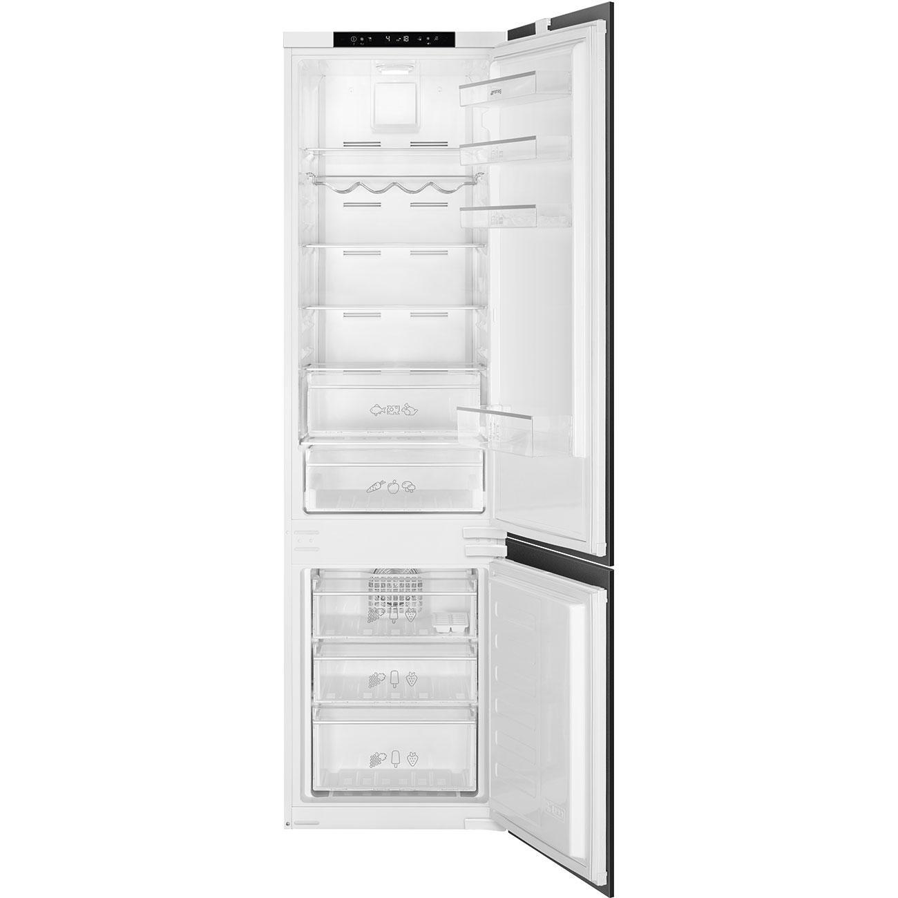 Photo Réfrigérateur Combiné Intégrable Smeg C8194TN2P