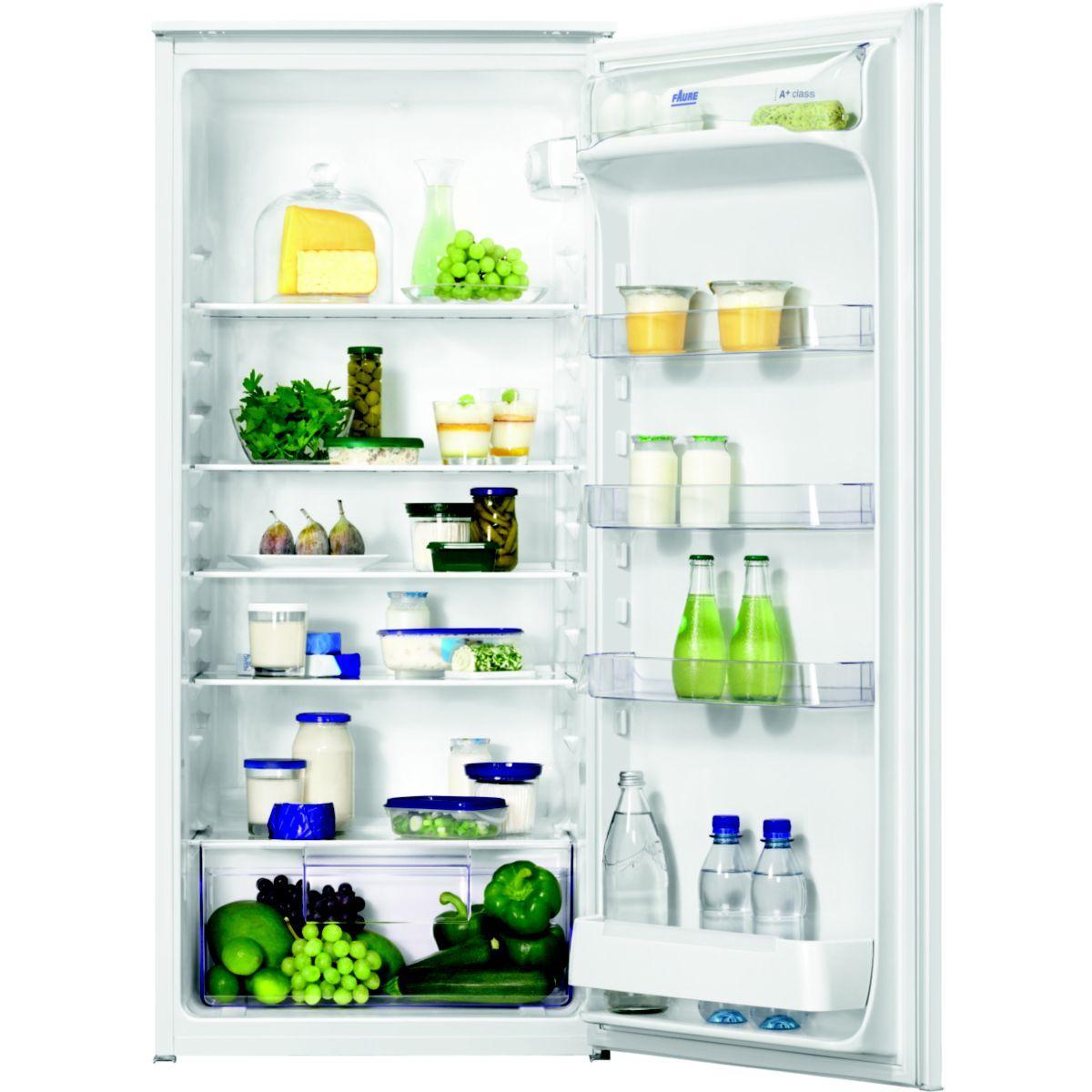 Photo Réfrigérateur Faure 1 porte Intégrable FBA22021SA