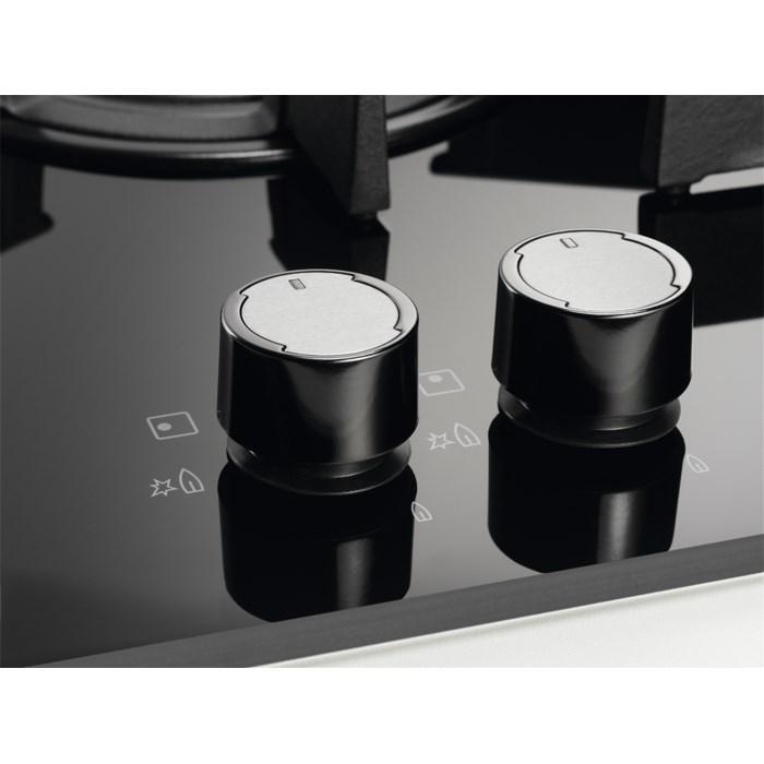 plaque gaz electrolux egu7657nox electromenager grossiste. Black Bedroom Furniture Sets. Home Design Ideas