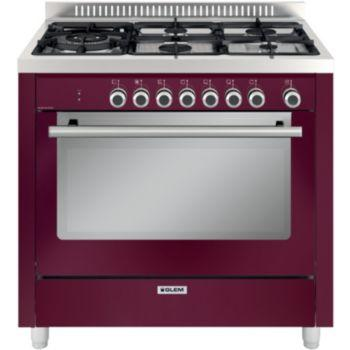 Photo Piano de Cuisson Mixte Glem GX960CVBR