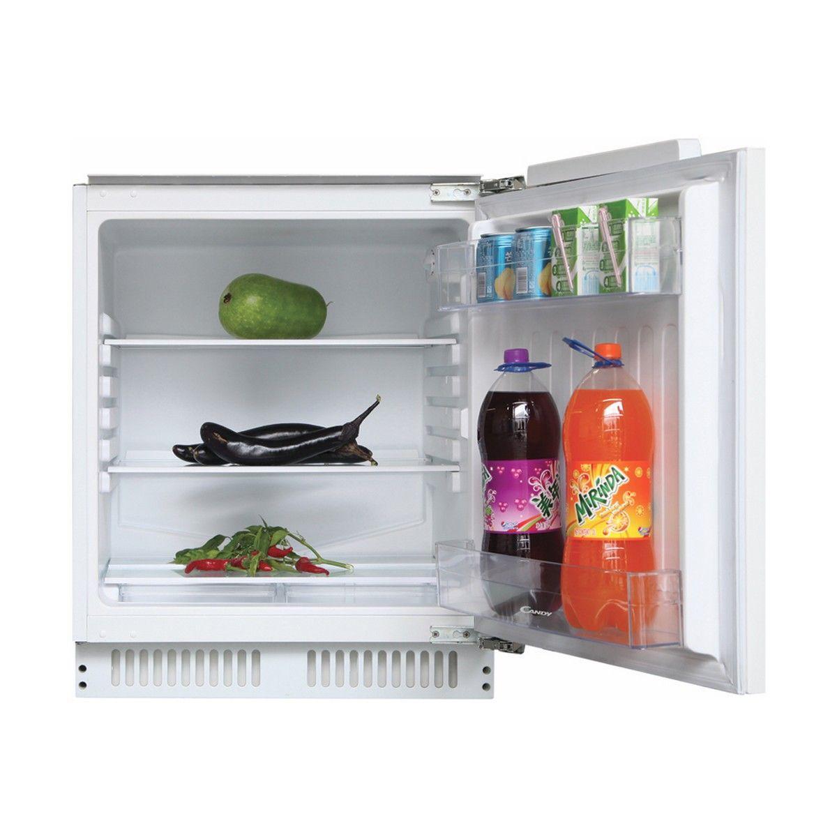 Photo Réfrigérateur Sous Plan Intégrable Candy CRU160NE/N