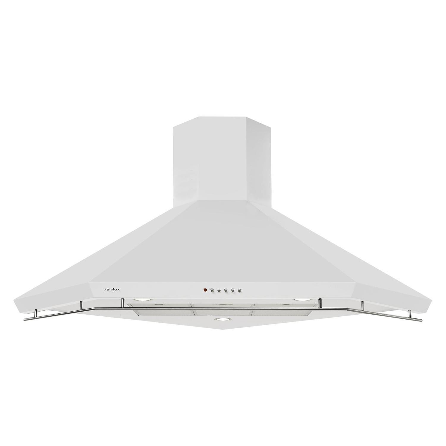 hotte d 39 angle airlux ahk110wh electromenager grossiste