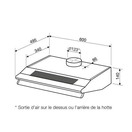 Hotte Casquette Airlux AHC65BK