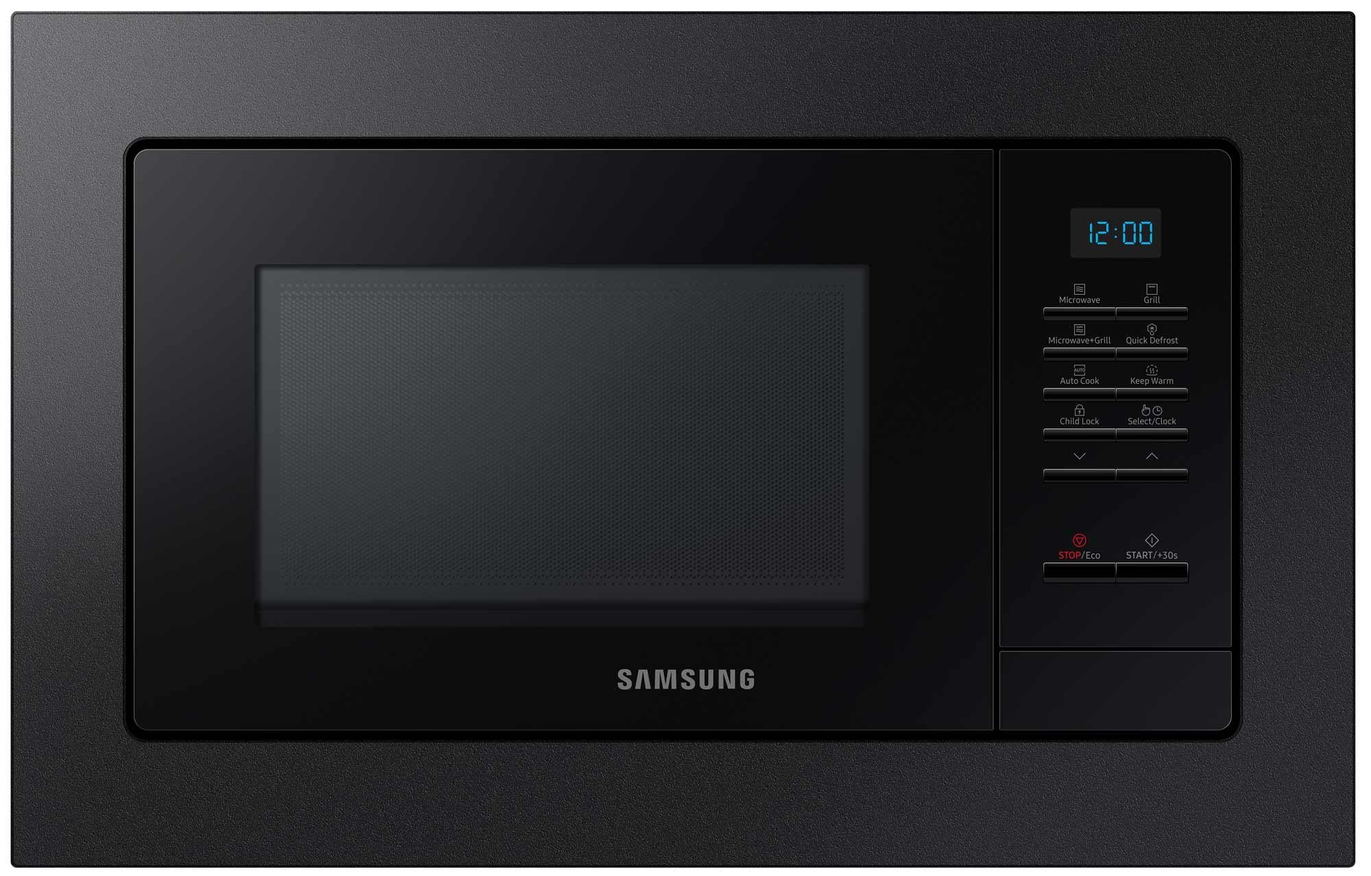 Photo Micro-ondes Gril Encastrable Samsung MG20A7013CB