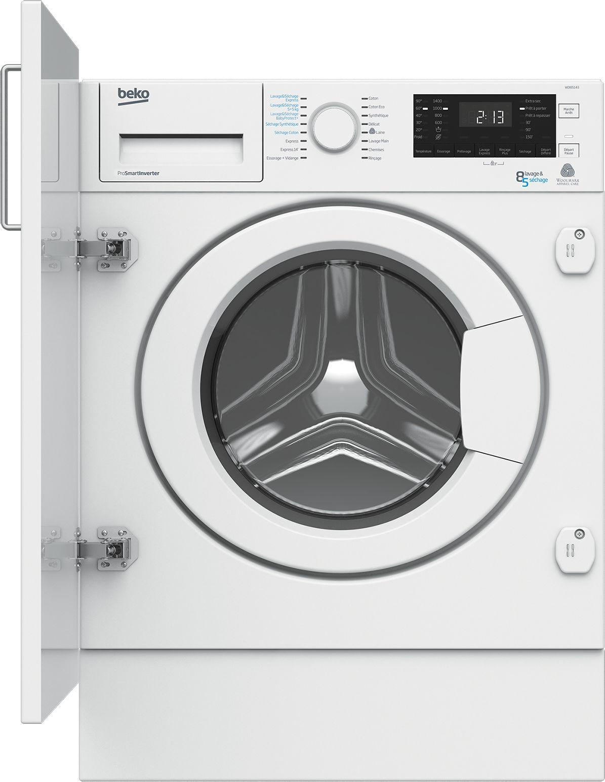 Photo Lave-Linge Séchant Beko WDI85143