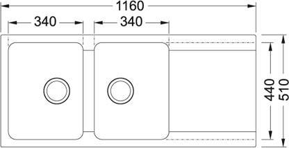 Évier Franke OrionTectonite OID621
