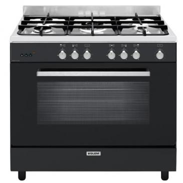 Photo Piano de Cuisson Gaz  Glem GE960CMBK