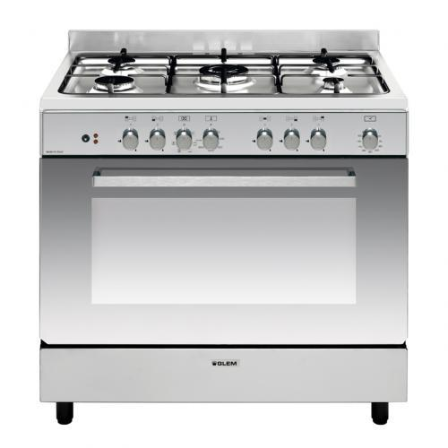 Photo Piano de Cuisson Mixte Glem GE960CBIX
