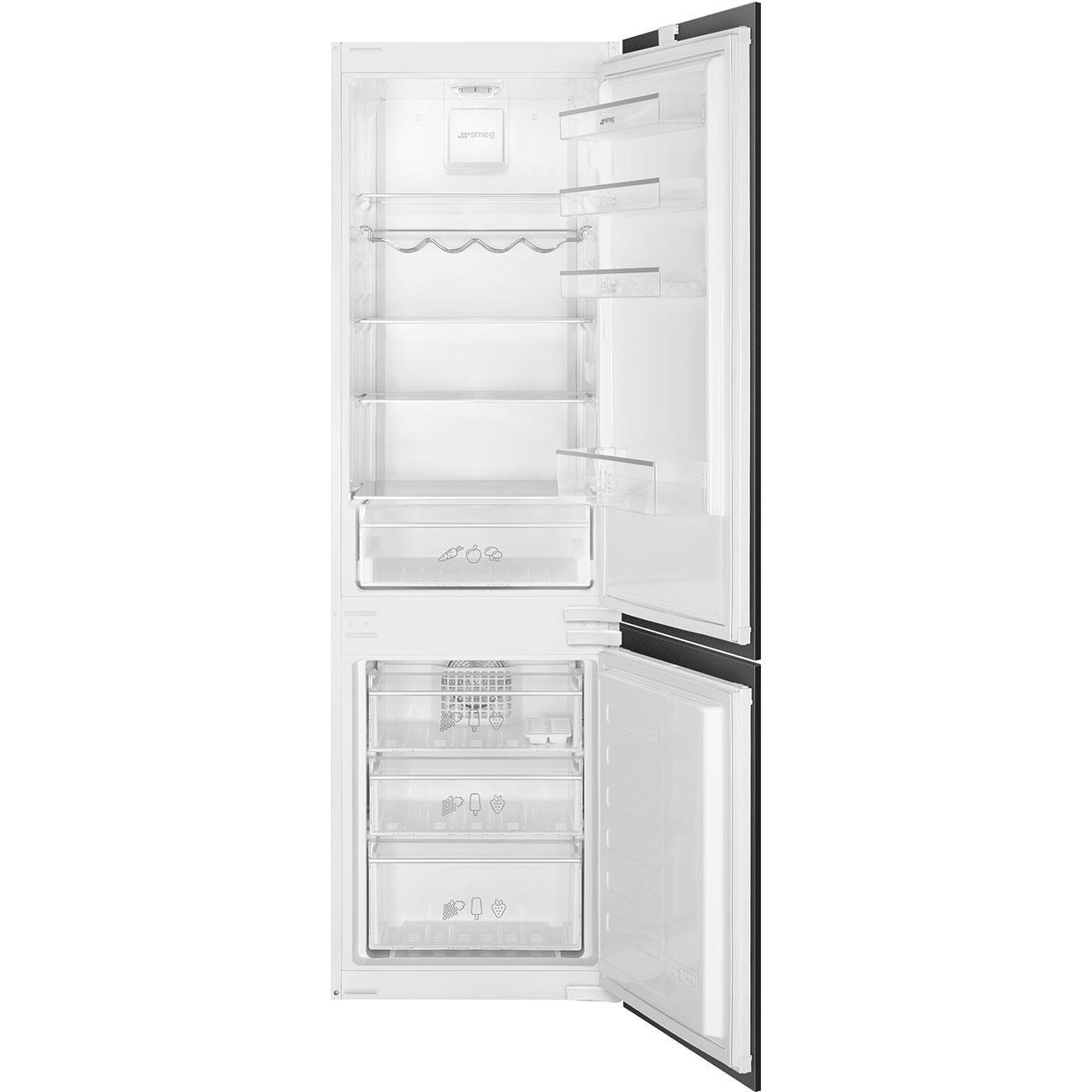 Photo Réfrigérateur Combiné Intégrable Smeg C3170NF