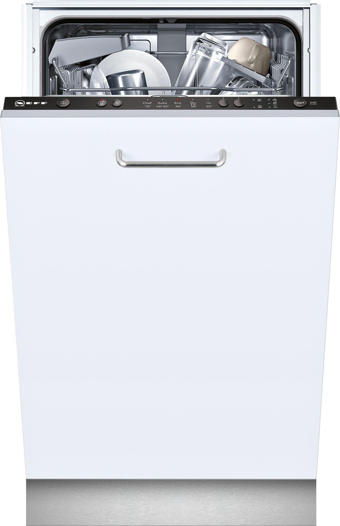 Photo Lave Vaisselle Tout Intégrable Neff S581C50X3E