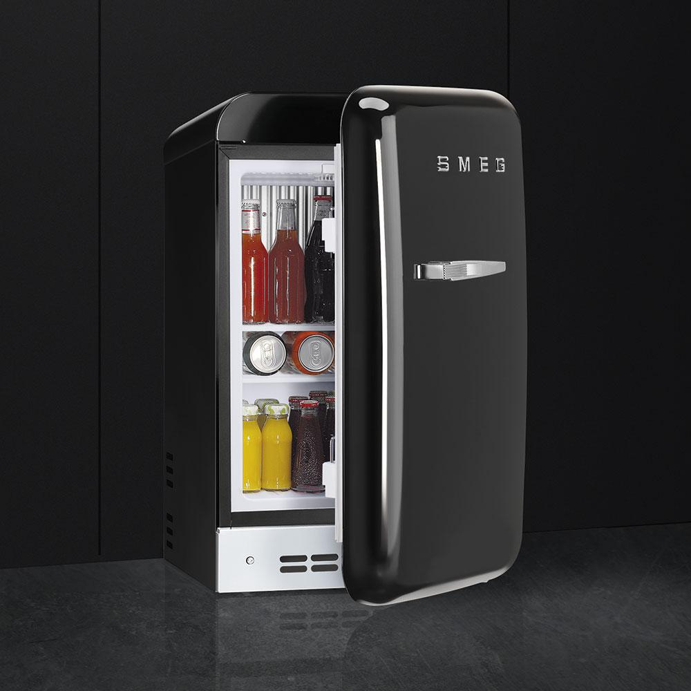 Photo Réfrigérateur Minibars Smeg FAB5RBL