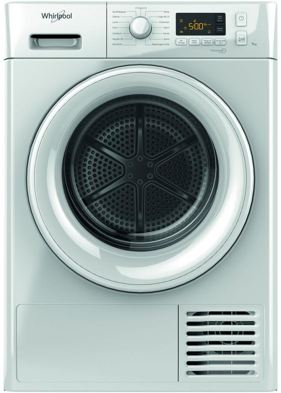 Photo Sèche-Linge Condensation Whirlpool FTCM119XBFR