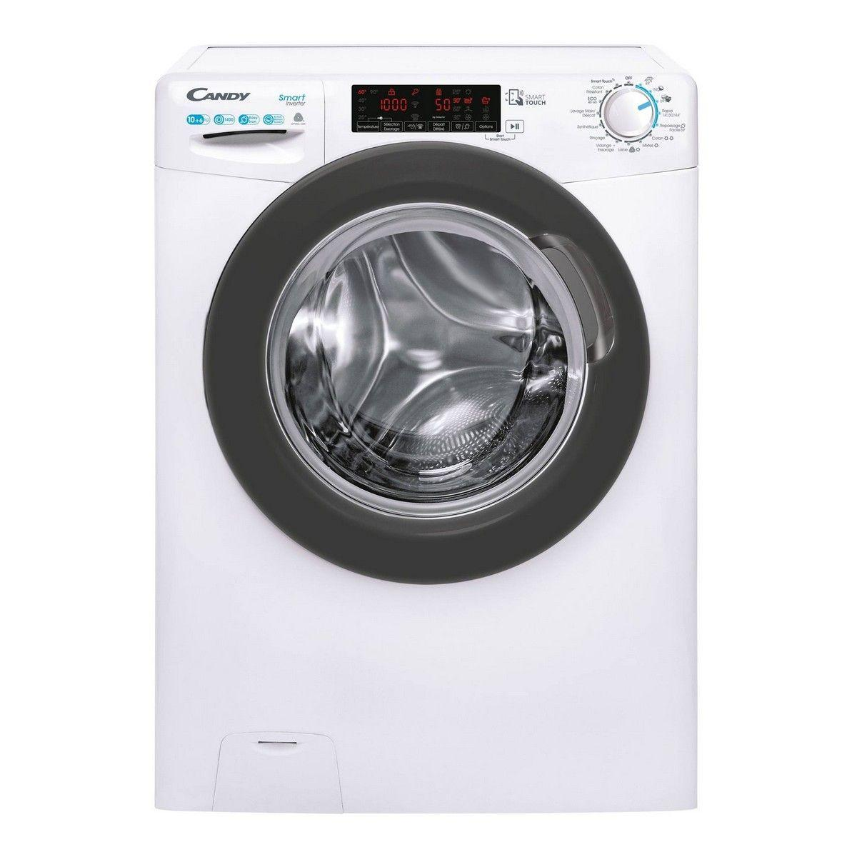 Photo Lave-Linge Séchant Candy CSWS4106TWMRE-47