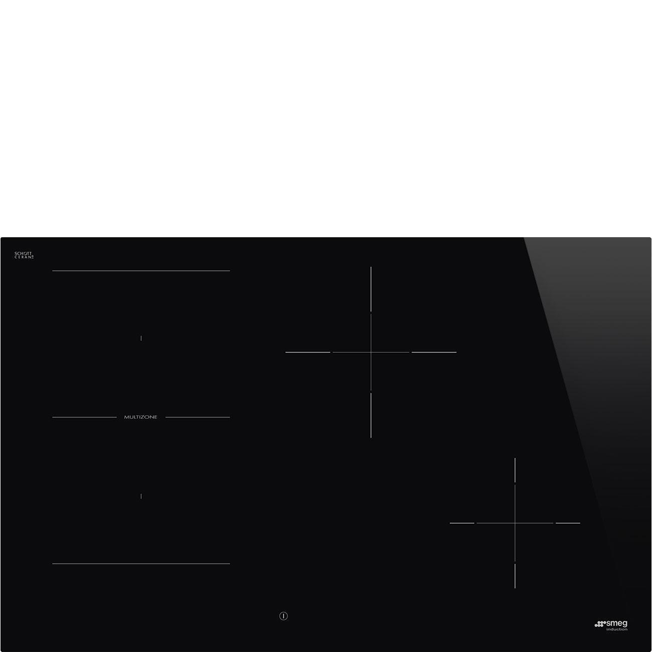 Photo Plaque Induction Smeg SI1M4844D
