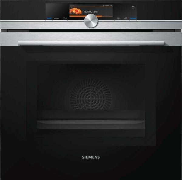 Photo Four + Micro-ondes Siemens HN678G4S6