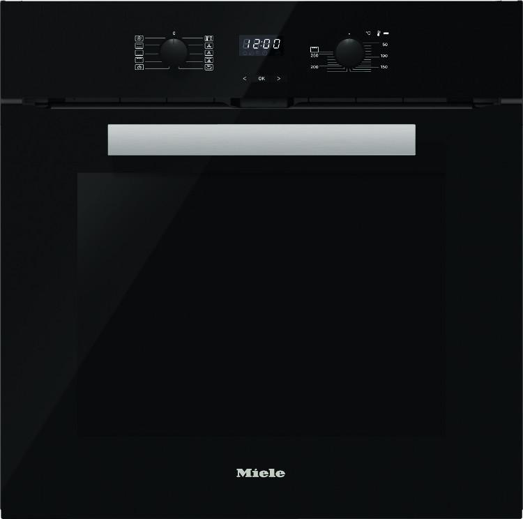 Photo Four Miele Multifonction Pyrolyse H2661BPNR