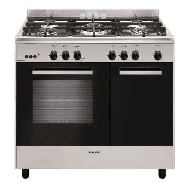 Photo Piano de Cuisson Gaz Glem GA960PCGIX