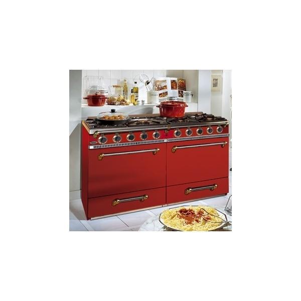 photo piano de cuisson godin la souveraine 1400 carmin. Black Bedroom Furniture Sets. Home Design Ideas