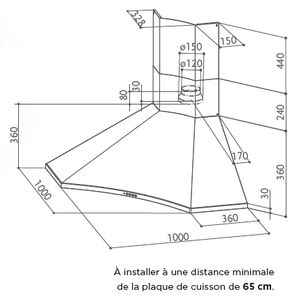 Hotte Angle Faber SOLARIS-5050006