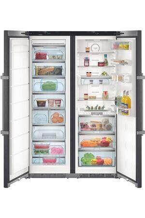 Photo Réfrigérateur Side-By-Side Liebherr SBSBS8683-21