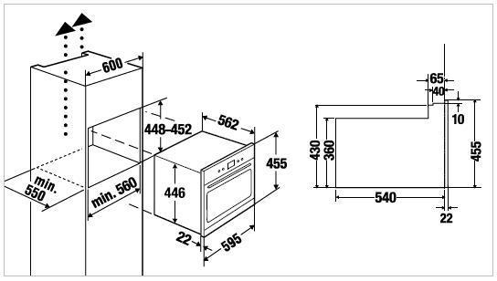 four compact encastrable k ppersbusch eebk6550 8wx1. Black Bedroom Furniture Sets. Home Design Ideas