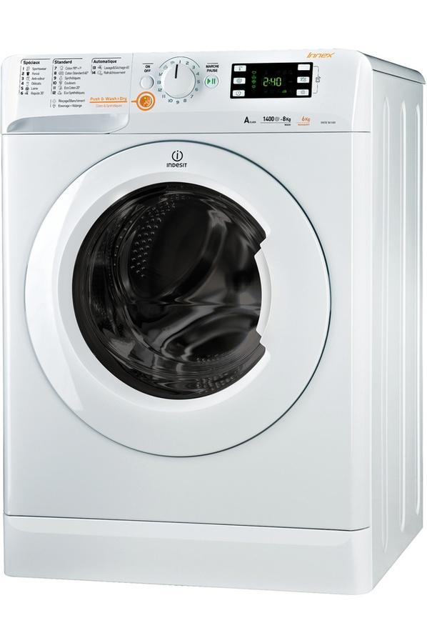 Photo Lave linge Séchant Indesit XWDE861480XWFR