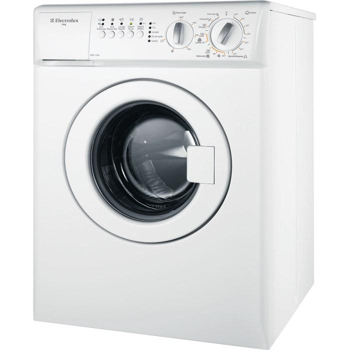 lave linge frontal compact electrolux ewc1350 electromenager grossiste. Black Bedroom Furniture Sets. Home Design Ideas