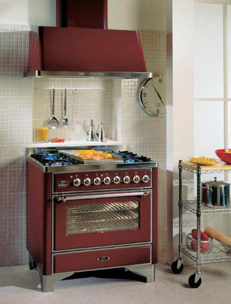 Photo Cuisinière Ilve Majestic M90FDE3