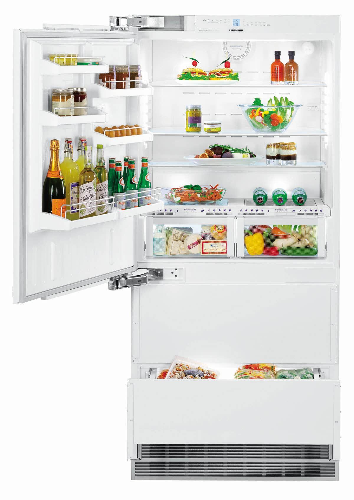 Photo Réfrigérateur Liebherr Combiné  Intégrable ECBN5066G