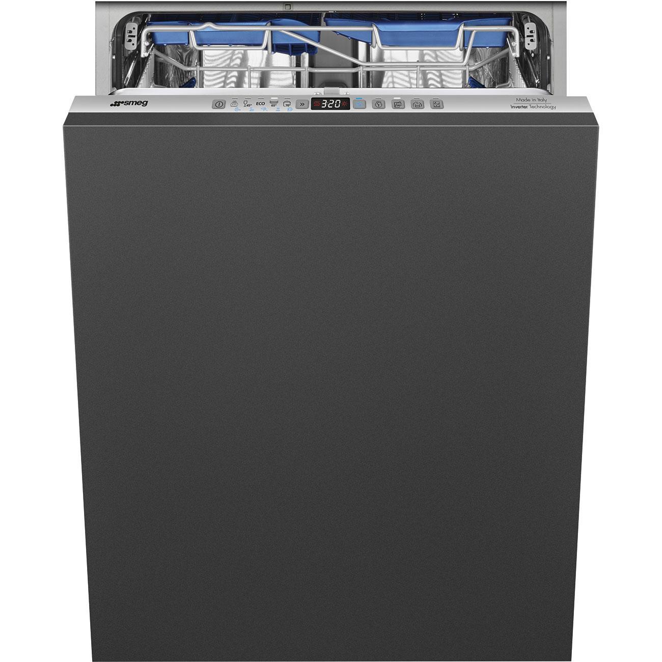 Photo Lave vaisselle intégrable Smeg STL332BQLFR