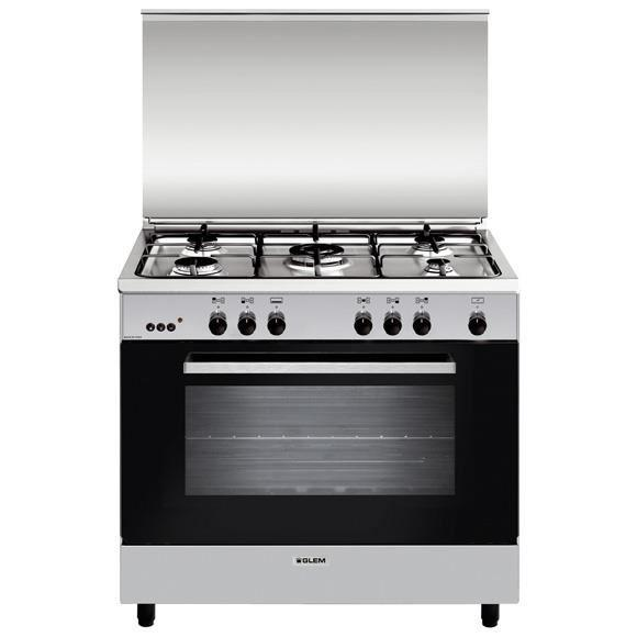 Photo Piano de Cuisson Gaz Glem GA960MIX