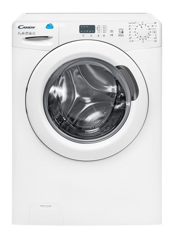 Photo Lave Linge Frontal Candy CS1271D3/1-S