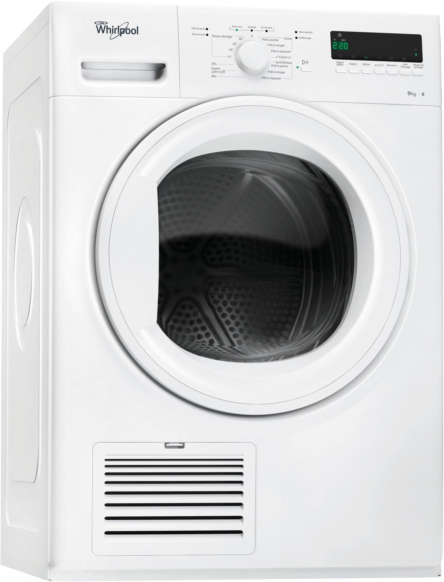 Photo Sèche-Linge Condensation Whirlpool DGELX90111