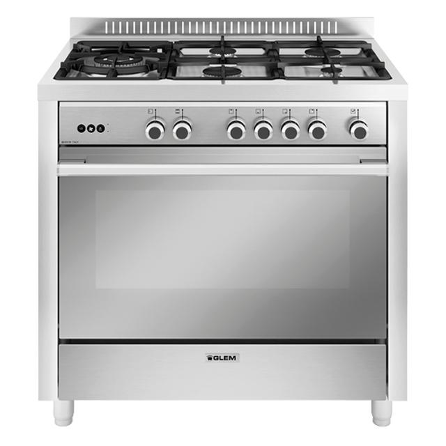 Photo Piano de Cuisson Gaz Glem GX960CQIX