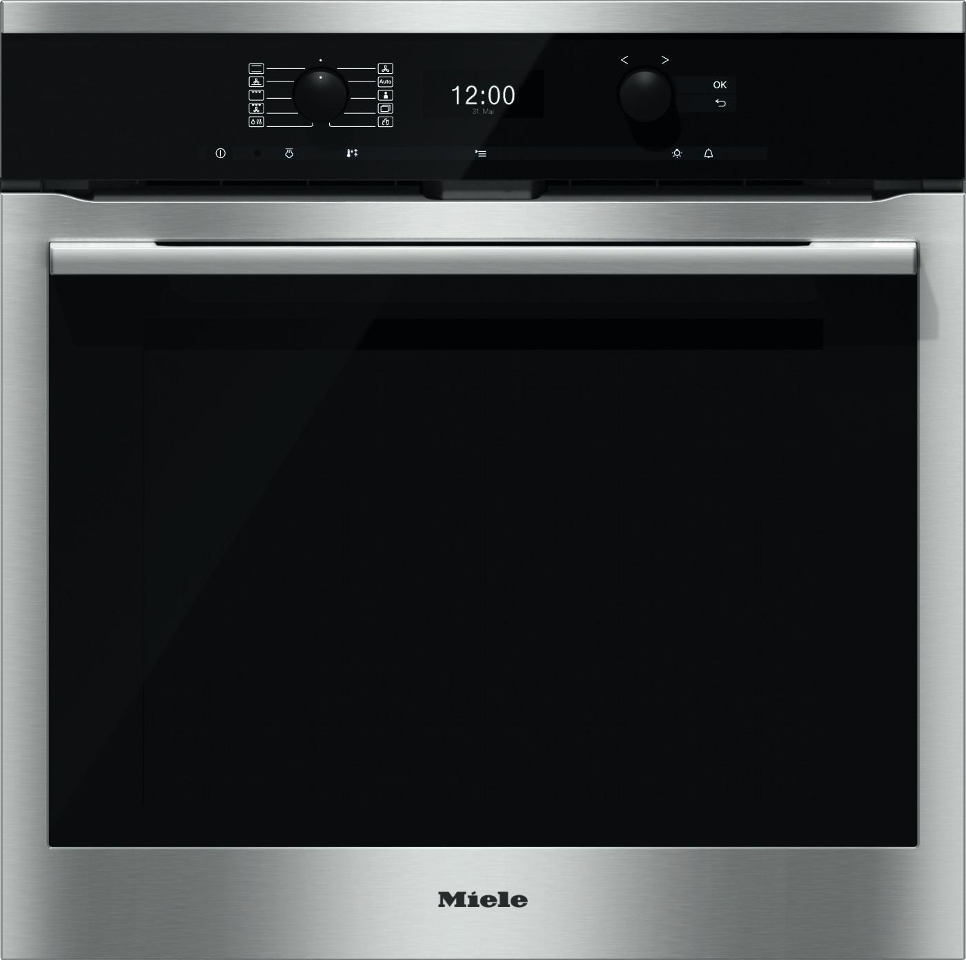 Photo Four Miele Multifonction Pyrolyse H6360BPIN