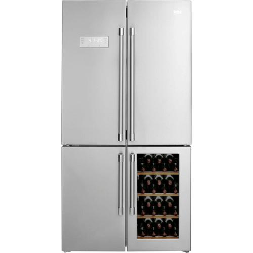 Photo Réfrigérateur + Cave à vin Beko GN1416220CXPN