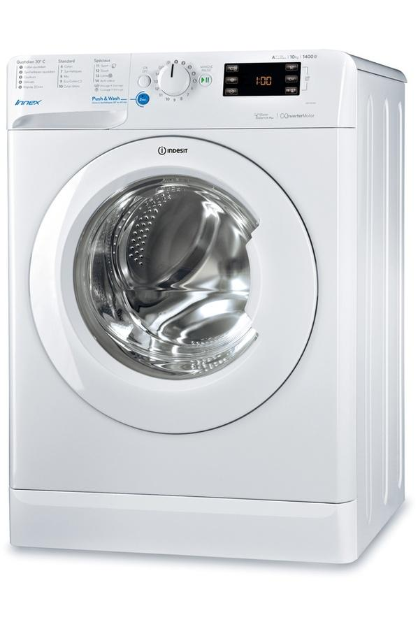 Photo Lave linge Frontal Indesit BWE101484XWFR