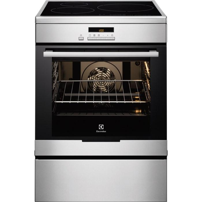 Photo Cuisinière Induction Electrolux EKI6771AOX