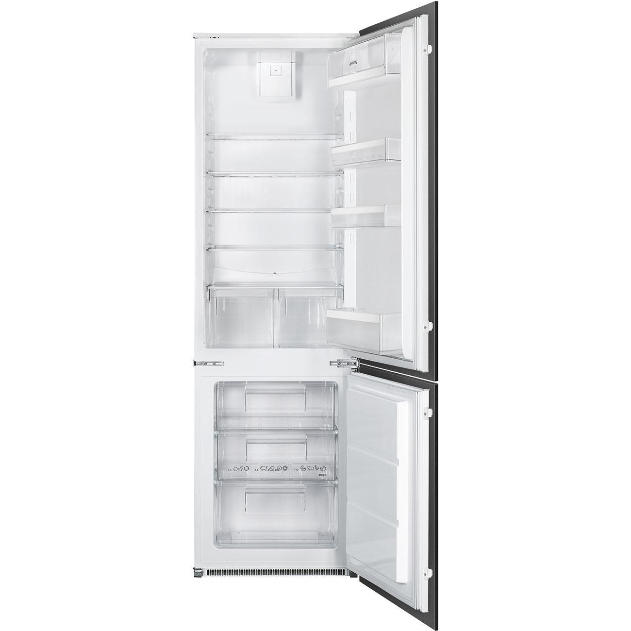 Photo Réfrigérateur Combiné Intégrable Smeg C41721L
