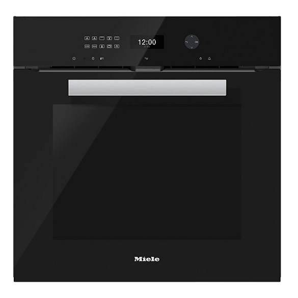 Photo Four Miele Multifonction Pyrolyse H6461BPNR