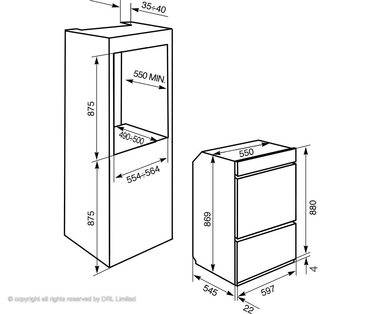 Four Pyrolyse Multifonction Smeg DOSP6390X