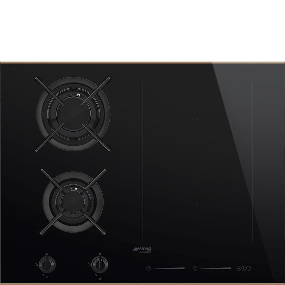 Photo Plaque Mixte Smeg PM6621WLDR