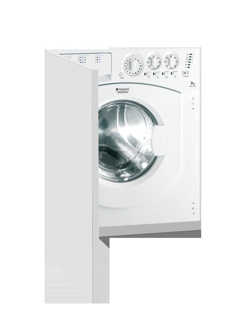 Photo Lave linge Hotpoint Ariston Intégrable AWM1081EU