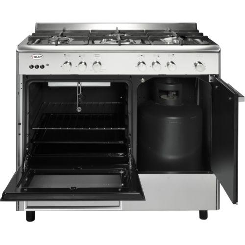 piano de cuisson gaz glem ga96pcgix electromenager grossiste. Black Bedroom Furniture Sets. Home Design Ideas
