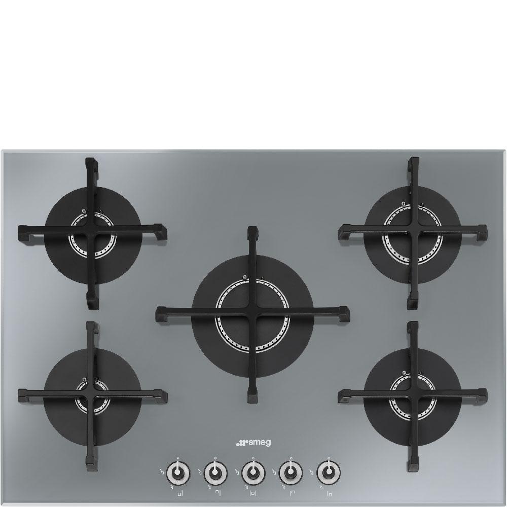 plaque gaz encastrable smeg pv175s 1 electromenager grossiste. Black Bedroom Furniture Sets. Home Design Ideas