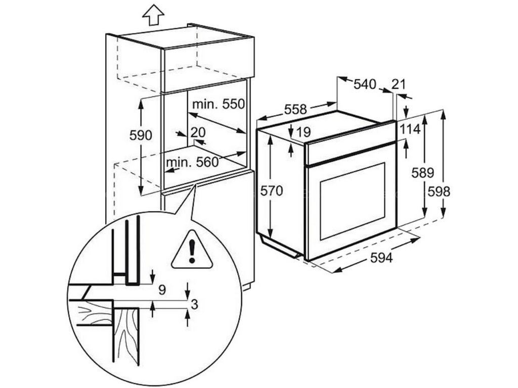 four pyrolyse multifonction faure fop27001xk electromenager grossiste. Black Bedroom Furniture Sets. Home Design Ideas
