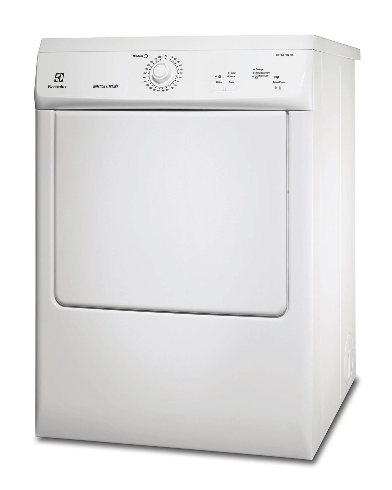 Photo Sèche-linge Evacuation Electrolux EDE1070PDW