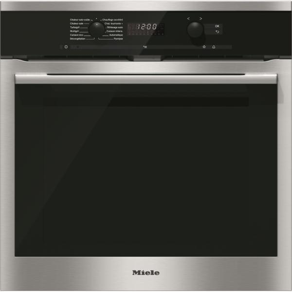 Photo Four Miele Multifonction Pyrolyse H6165BPIN