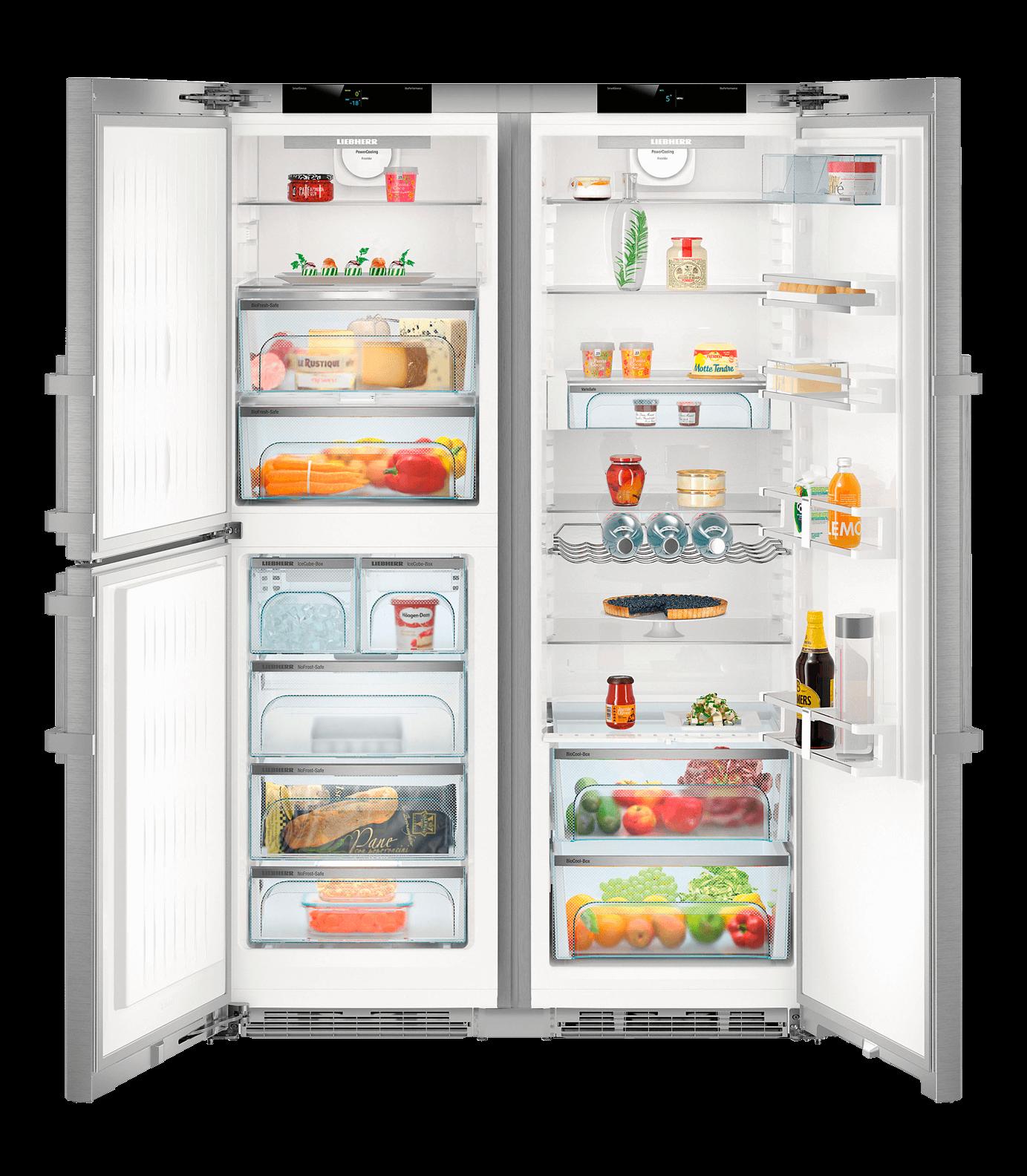 Photo Réfrigérateur Side-By-Side Liebherr SBSES8483-20
