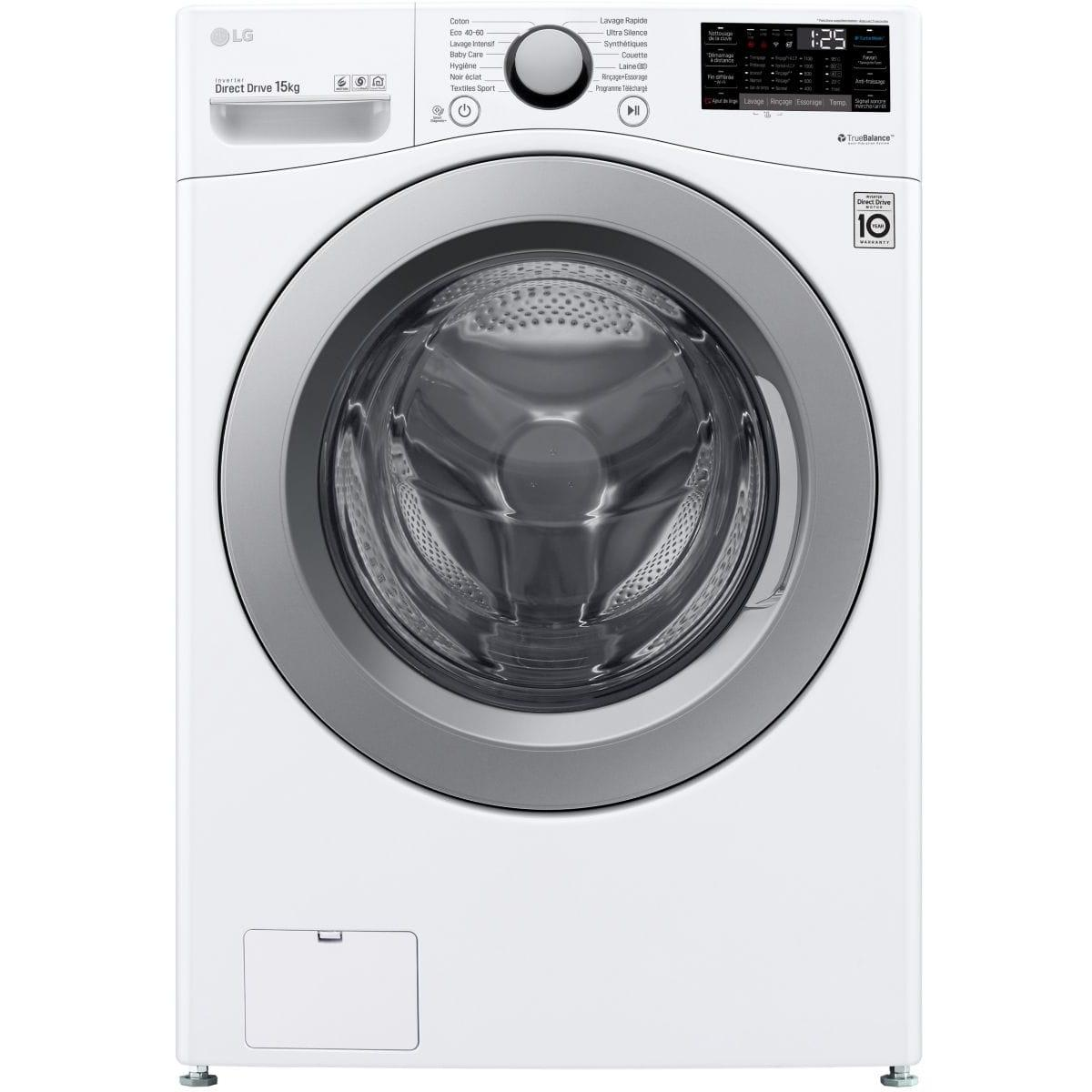 Photo Lave Linge LG Frontal F51P14WH